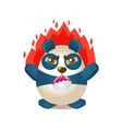 Cute Panda Activity With Humanized vector image vector image