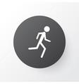 jogging icon symbol premium quality isolated vector image