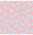 Seamless pattern with pastel bows on a vector image vector image