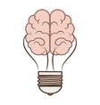 brain storming isolated icon vector image vector image