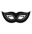 elegant mask icon simple style vector image