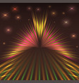 laser abstract background with stars vector image vector image