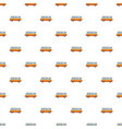 mini bus pattern vector image vector image