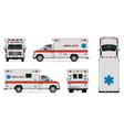 realistic ambulance car
