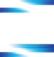 Straight blue lines background vector image vector image