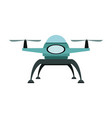 drone technology unmanned aerial vehicle icon vector image