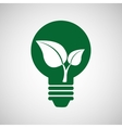 ecology eco nature protection bulb vector image vector image