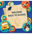 Education template set vector image vector image