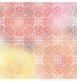 elegant retro seamless pattern with colorful drops vector image