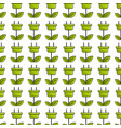 green power energy with leaves background vector image vector image