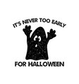 halloween graphic print for t shirt costumes and vector image vector image