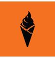 Ice cream icon vector image vector image