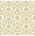 Ornate vintage seamless damask background vector image vector image