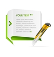 paper speech templates for text vector image vector image