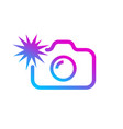 Social media modern digital camera icon symbol
