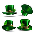 st patricks day hats vector image
