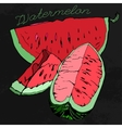 Watermelon 07 A vector image