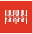Scan the bar code icon Barcode scanning symbol vector image