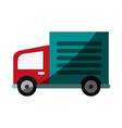 cargo or delivery truck icon image vector image vector image
