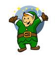 Happy Elf vector image