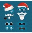 Santa Klaus fashion set hipster style