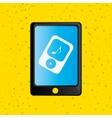 smartphone service design vector image vector image