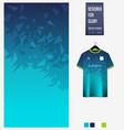 soccer jersey pattern design mosaic pattern vector image vector image