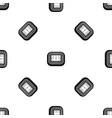 stadium top view pattern seamless black vector image vector image