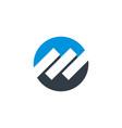 stock exchange logo template design eps vector image vector image