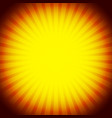 abstract rays glowing sunburst background vector image