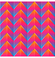 bright zigzag pattern vector image vector image