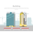 Building Process Success Engineer vector image vector image