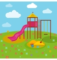 Children Playground 04 A vector image