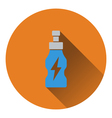 Icon of Energy drinks bottle vector image