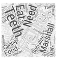 marshall ferrets Word Cloud Concept vector image vector image