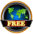 New free icon vector image