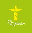 Rio de Janeiro Brazil icon sign poster vector image