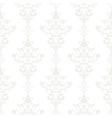 Silver vintage seamless wallpaper vector image vector image