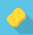 sponge icon isolated on white background vector image vector image