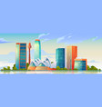sydney australia skyline with opera house banner vector image