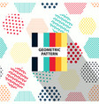 abstract geometric striped pattern vector image vector image