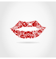 Business a lip vector image vector image