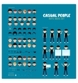 Casual People Part 1 vector image vector image