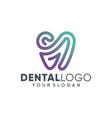 health dent logo design template vector image