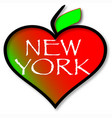 love new york vector image vector image