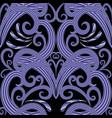 modern vintage damask seamless pattern vector image