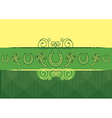 St Patricks Day abstract background with vector image vector image