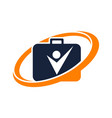success businessmen management vector image vector image