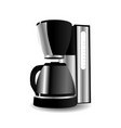 coffee maker isolated vector image vector image