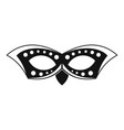 event mask icon simple style vector image vector image
